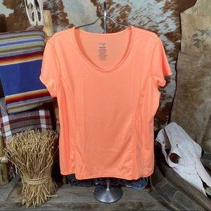 Danskin Shirt Short Sleeve Size XL 16-18